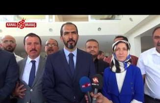 Milletvekili Adayı Özdemir Galericiler Sitesi esnafına ziyarette bulundu