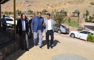 MÜSİAD Genel Başkanı Kaan'dan Osman Okumuş'a Ziyaret