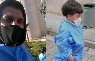 Eski Kahramanmaraşspor futbolcusu öldürdüğü oğlunun, hastanedeki görüntüsü ortaya çıktı