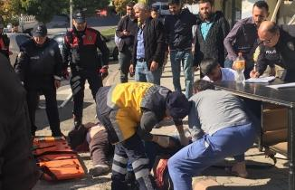 Kahramanmaraş'ta önce kaza sonra kavga