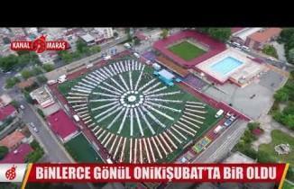 Onikişubat Belediyesi'nden 10 bin kişiye dev iftar