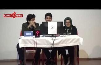 Onikişubat'ın Bilgi yarışmasında yarı final sevinci