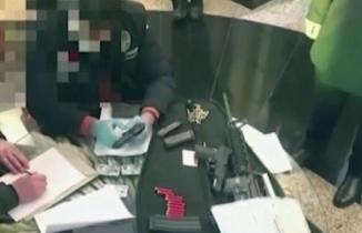 Sedat Peker'in evinin arandığı operasyonun görüntüleri yayınlandı