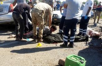 Osmaniye Kadirli'de korkunç kaza! 3 araç birbirine girdi