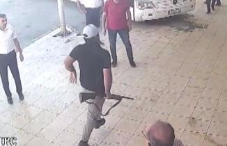 Kahramanmaraş'ta otogarda av tüfeğiyle dehşet saçtı!
