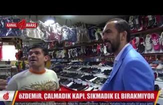 Özdemir, Sakarya esnaflarını ziyaret etti