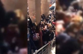 Bu görüntüler olay oldu: ''AK Parti otobüslerle insanları böyle taşıdı!''