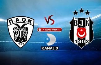 PAOK - Beşiktaş maçı (CANLI İZLE)