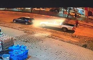 Kahramanmaraş'ta polisin öldüğü kaza, güvenlik kamerasında!
