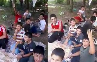 4 çocuğun boğularak öldüğü piknikten görüntüler ortaya çıktı