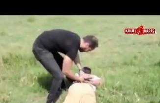 Polisten kaçan cezaevi firarisi yakalandı! O anlar kameralara yansıdı...