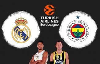 Real Madrid - Fenerbahçe Beko Maçı Canlı İzle!