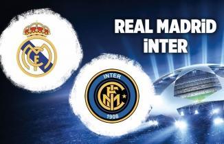 Real Madrid - İnter Maçı Canlı İzle