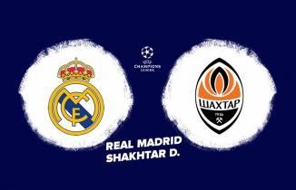 Real Madrid-Shakhtar Donetsk Maçı CANLI İZLE
