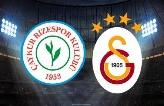 ÖZET İZLE | Çaykur Rizespor Galatasaray Maç Sonucu: 2 - 3