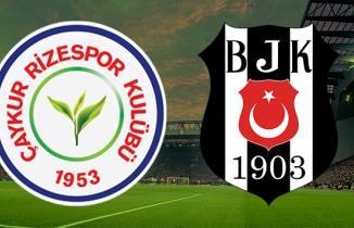 Çaykur Rizespor Beşiktaş Maçı Şifresiz Bein Sports RİZE BJK izle