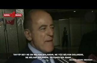 Sakıp Sabancı'dan Erdoğan yorumu!