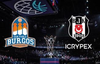 San Pablo Burgos (82-74) Beşiktaş Icrypex maçı özeti izle