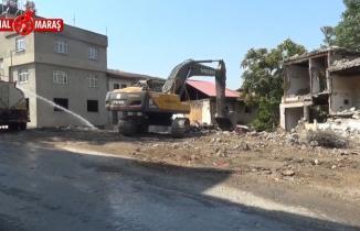 Kanal Maraş'ın haberinin ardından çalışmalar başlatıldı