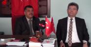 Prof.Dr. Sefer AYCAN Türkoğlu MHP İlçe Bşk.lığı Ziyareti