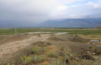 Erzincan'daki sel felaketi kameralara anbean böyle yansıdı!