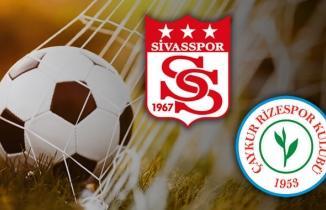 Sivasspor Rizespor Maçı Canlı İzle
