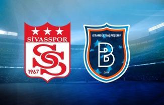 Sivasspor - Başakşehir maçı (CANLI İZLE)