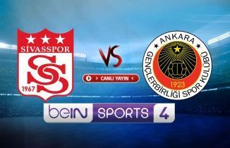 Sivasspor - Gençlerbirliği CANLI İZLE şifresiz, Sivasspor maçı canlı izle