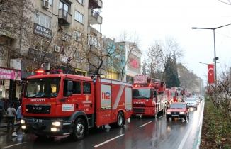 Kahramanmaraş'ta yoğun duman! İtfaiye gönderildi