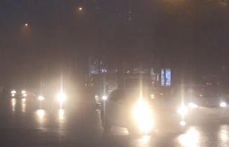 Kahramanmaraş'ta etkili olan sis yaşamı olumsuz etkiledi