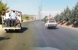 Kahramanmaraş'ta kural tanımayan şoförler kamerada