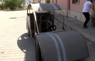 Helal olsun: İstanbul'da liseli gençler otomobil tasarladı