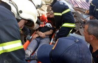 Kahramanmaraş'ta deprem tatbikatı! Role kendilerini kaptırdılar