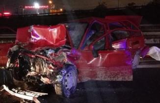 TEM'de korkunç kaza: 2 kişi feci şekilde öldü!