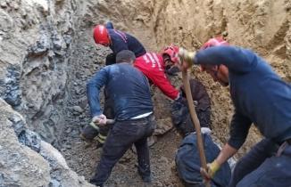 Kahramanmaraş'ta toprak altında kalan baba-oğul yaşamını yitirdi!