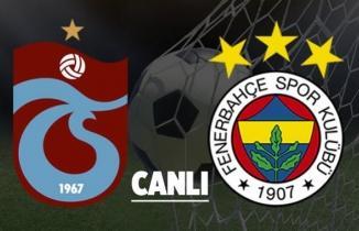 SelçukSpor TV canlı izle Trabzonspor Fenerbahçe maçı izle şifresiz Trabzon Fener canlı maç izleme!