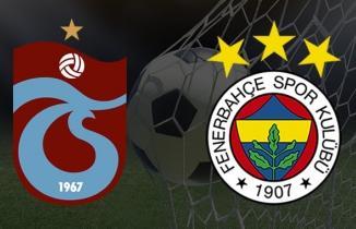 Trabzonspor - Fenerbahçe maç özeti!