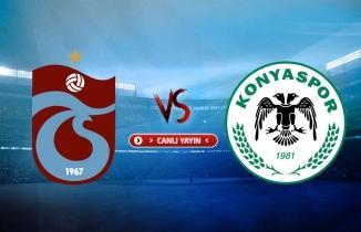 Trabzonspor - Konyaspor maçı (CANLI İZLE)