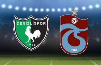 Denizlispor - Trabzonspor maçı (CANLI İZLE)