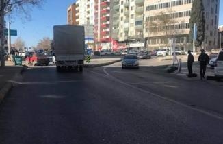 Kahramanmaraş'ta hafif ticari aracın çarptığı çocuk yaralandı