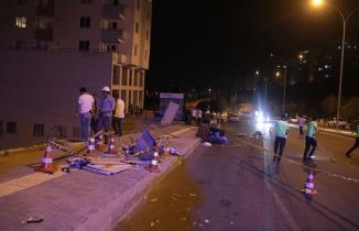 Kahramanmaraş'ta alkollü sürücü ortalığı birbirine kattı: 1 ölü, 3 yaralı