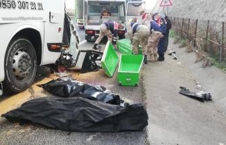 Şanlıurfa'da feci kaza: 3 ölü 30 yaralı