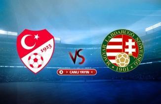 Türkiye - Macaristan maçı / CANLI İZLE