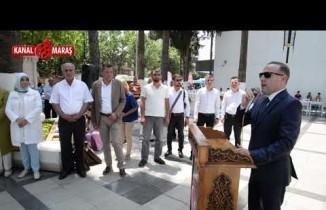 Türkoğlu'nda 4. Ulusal Sanat Çalıştayı Sergisi açıldı
