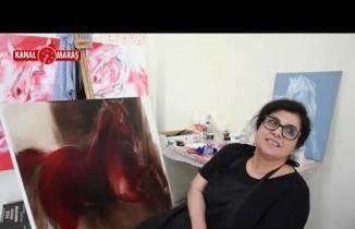 Türkoğlu'nda 4. Ulusal Sanat Çalıştayına ziyaretçi akını devam ediyor