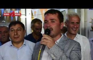 """Türkoğlu'nda """"Recep Tayyip Erdoğan"""" coşkusu"""