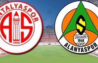 Antalyaspor - Alanyaspor maçı / CANLI İZLE