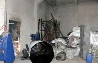 Kahramanmaraş'ta yağ kazanı patladı, Suriyeli işçi ağır yaralandı