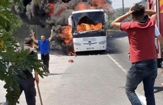 Balıkesir'de hareket halindeki otobüste yangın çıktı: 5 kişi öldü!