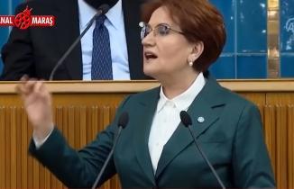 Akşener, kürsüye Doğu Türkistanlı kadını çağırınca canlı yayını kestiler